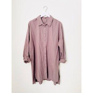 Free People•Dress Shirt Tunic